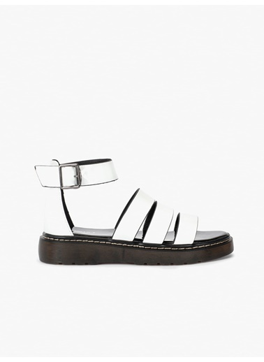 Twist Sandalet Beyaz